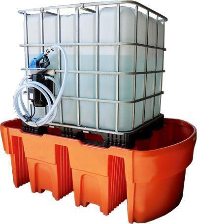 ibc lekbakken opvangbak 1000 liter tank vatenlekbak containers. Black Bedroom Furniture Sets. Home Design Ideas