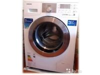 7kg Samsung ecobubble washing machine,chrome design,excellent cond,4 months warranty,free delivery