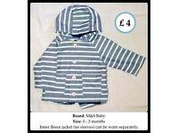 Baby hoodies + jacket
