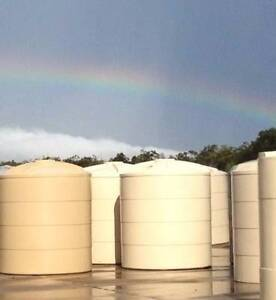 NEW 5000 Litre Round Poly Water Tanks. Free Delivery. Brisbane Region Preview