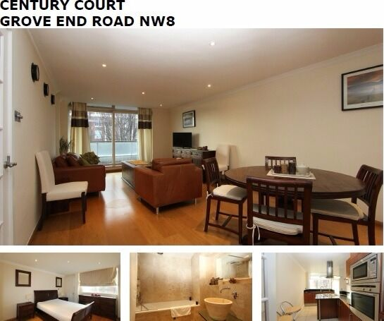 1 bed luxurious ported block st johns wood