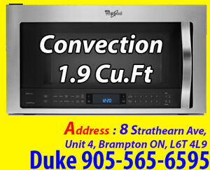 * Stainless Steel Over-the-Range Microwave 1.9 Cu.Ft YWMH76719CS