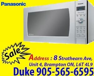 Panasonic 2.2 Cu.Ft 1200W NNSD980S Stainless Steel Microwave