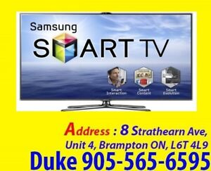 Samsung Smart TV, Curved, LED, LCD, 3D, 4K, Plasma TV Repair