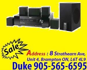 > Home Theater System 1000W FM / AM, Aux input WoWW