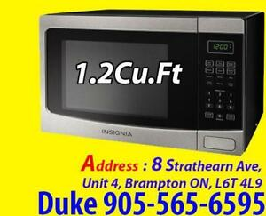 NEW 1.2 Cu. Ft. 1100 Watts Counter top Microwave - Stainless Steel Sale