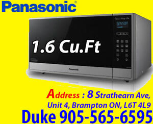 Panasonic Prestige Plus 1.6 Cu.Ft Stainless Steel Microwave
