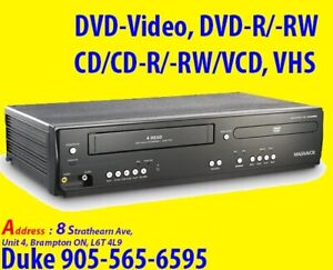 DVD Player, MAGNAVOX DV220MW9  VCR Combo For Sale