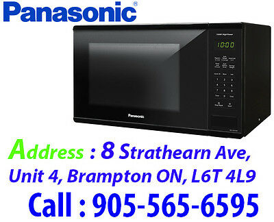 Panasonic 1.3 Cu. Ft. Microwave 1100W (NNSG626B) - Black