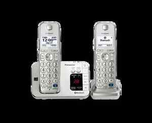 2 - handset Panasonic  with Bluetooth and answering machine