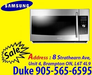 Samsung 1.7 Cu.Ft Over-The-Range ME179KFETSR Microwave