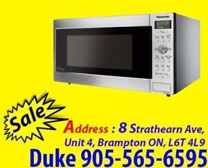 Panasonic NNSD773S 1.6 Cu.Ft Stainless Steel Microwave
