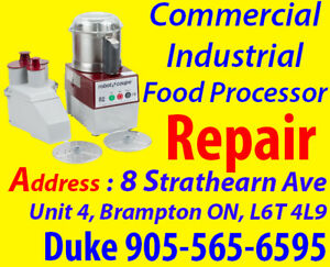 Service, Food processor Repair, No Power, Burning