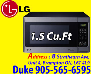 Microwave * LG, White, Stainless SALE From