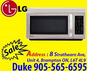 LG 1.8 Cu.Ft Over-the-Range Stainless-Steel LMV1813ST Microwave