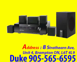 FOR SALE Home Theater System 1000W FM / AM, Aux input