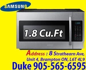 Samsung 1.8 Cu.Ft Microwave Over-The-Range 400CFM ME18H704SFS