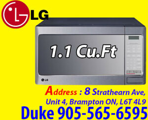 * LG, Microwave White, Stainless SALE From