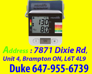 > Microlife Deluxe Upper Arm Blood Pressure Monitor BP3NA1-1X