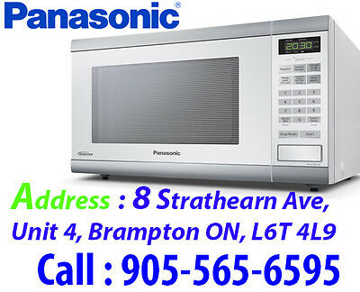 Panasonic Genius 1.2 Cu. Ft. Microwave iNVERTER (NNST661W) - White