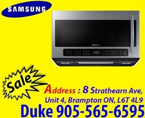 Microwave Samsung 2.1 Cu. Ft. Over-The-Range ME21H706MQS