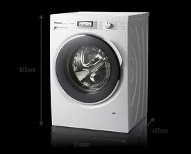 Panasonic Premium g Washing Machine - White, NA-168VX4WGB 8kg 1600rpm Freestanding, 2 years old