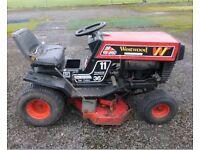 westwood ride on mower w11 gazelle 12hp 36 inch cut rear discharchge garden tractor grass cutter