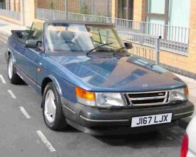 1992 Saab 900s convertible for sale