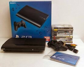 PS3 'Superslim' 500GB With 9 Games