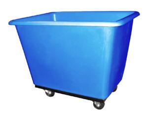 POLY BOX TRUCK OR BLUE BINS