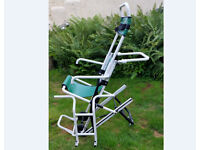 Evacuation chair for business or home. Easy to use.