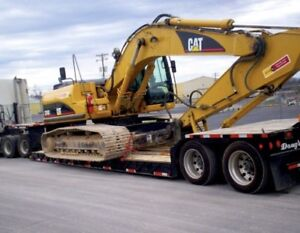 Heavy equipment shipping across Canada and Usa ***