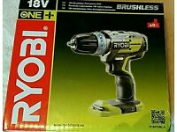 NEW* MORE POWERFUL (BRUSHLESS) RYOBI ONE+ 18V HAMMER DRILL
