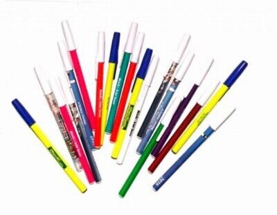 50 Wholesale Lot Misprint Ink Pens Ball Point Plastic