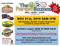 THE SIMCOE PARENT BAZAAR MOM TO MOM SALE