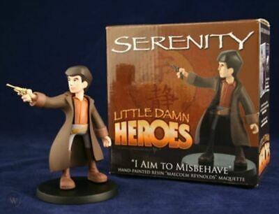 Firefly Serenity I Aim to Misbehave Little Damn Heroes Malcolm Reynolds Maquette