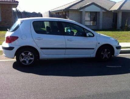 WRECKING 2003 PEUGEOT 307 HATCH ALL PARTS DELIVER FREE AUST WIDE