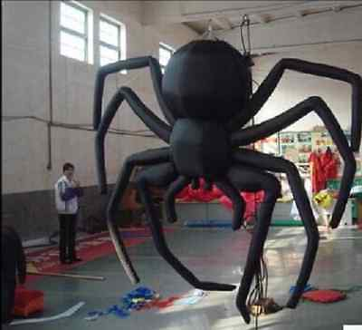 Giant Party Decoration Halloween Inflatable Hanging Spider for Sale 5m M