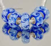 100 Lampwork Glass Beads