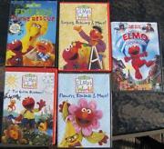 Sesame Street DVD Lot