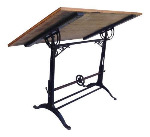 Antique Drafting Table Ebay