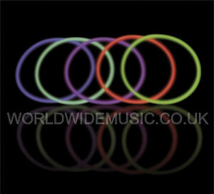 FOUR-4-200mm-GLOW-IN-THE-DARK-BRACELETS-Parties-Xmas