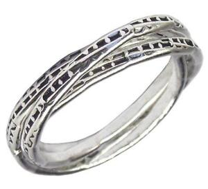 Sterling Silver Russian Wedding Rings