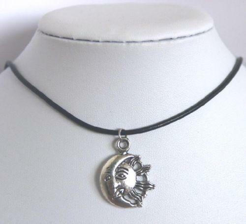 Sun moon necklace ebay aloadofball Images