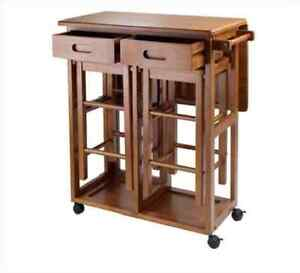 Kitchen Table With Drop Leaf For Small Spaces