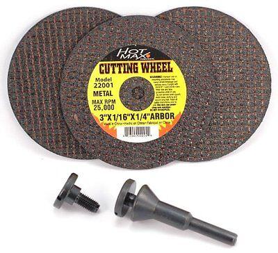 Hot Max 26182 Mandrel and Cut Off Wheel Kit, 1/4-Inch Arbors