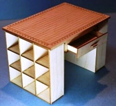 Dollhouse Miniature Fabric Cutting Table Kit - Maple - 1:12 Scale for sale  Whiteland