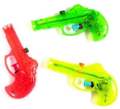 24 PIRATE WATER SQUIRT GUNS novelty pirates pistol toy items party favor supply](Pirate Water Pistol)