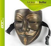 Guy Fawkes Mask Resin