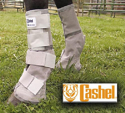 Cashel Crusader LEG GUARDS Cool Mesh Boots Fly Protection
